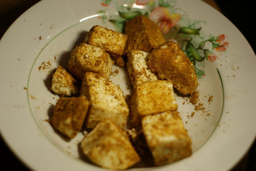 Фото рецепта - Жаренный сыр панир - шаг 4