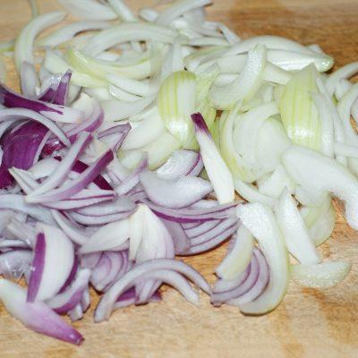 Фото рецепта - Ароматный Бирияни из риса с грибами и фасолью - шаг 4