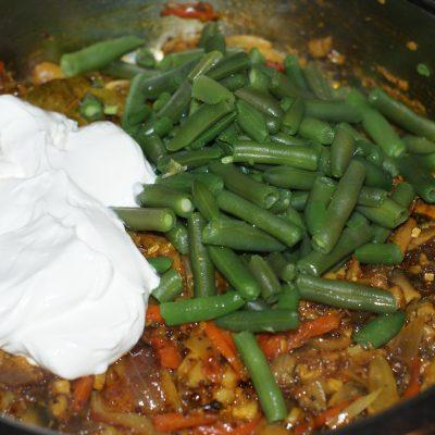 Фото рецепта - Ароматный Бирияни из риса с грибами и фасолью - шаг 11