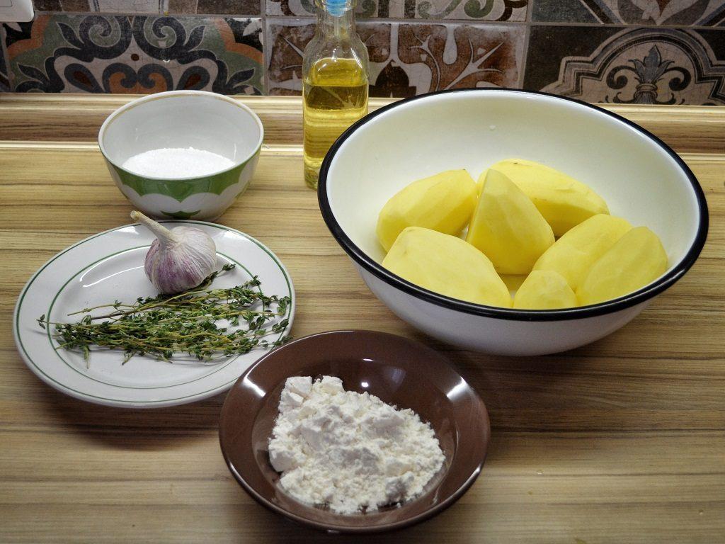 Фото рецепта - Печёная картошка - шаг 1