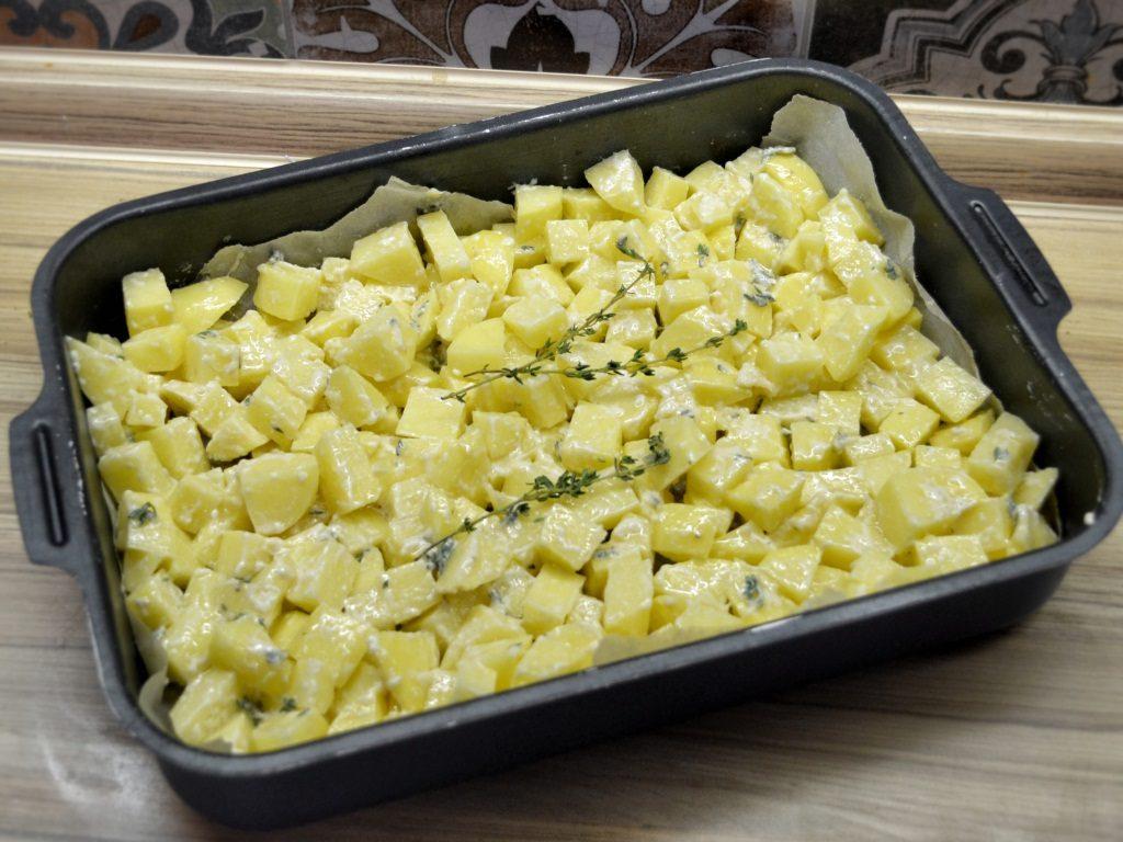 Фото рецепта - Печёная картошка - шаг 5