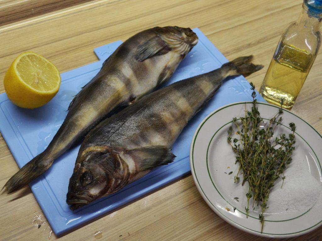 Фото рецепта - Рыба Терпуг, запеченная в фольге - шаг 1