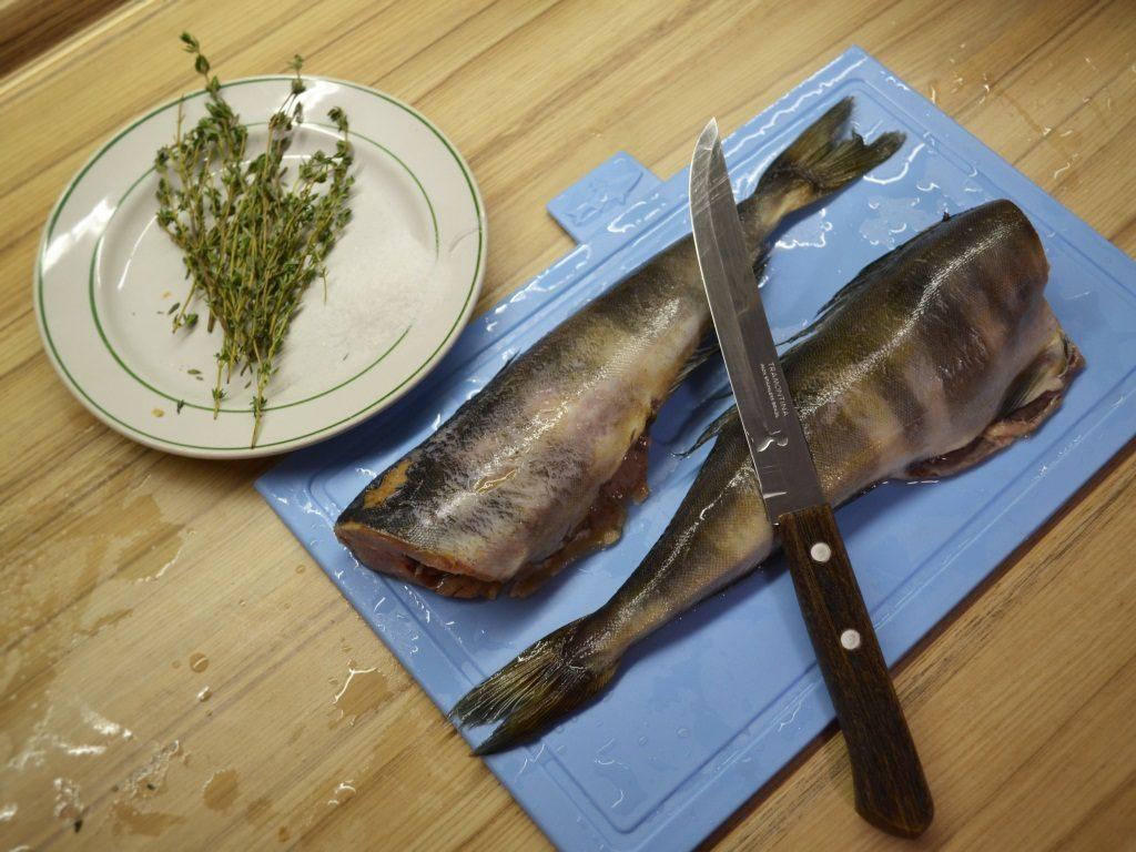 Фото рецепта - Рыба Терпуг, запеченная в фольге - шаг 2