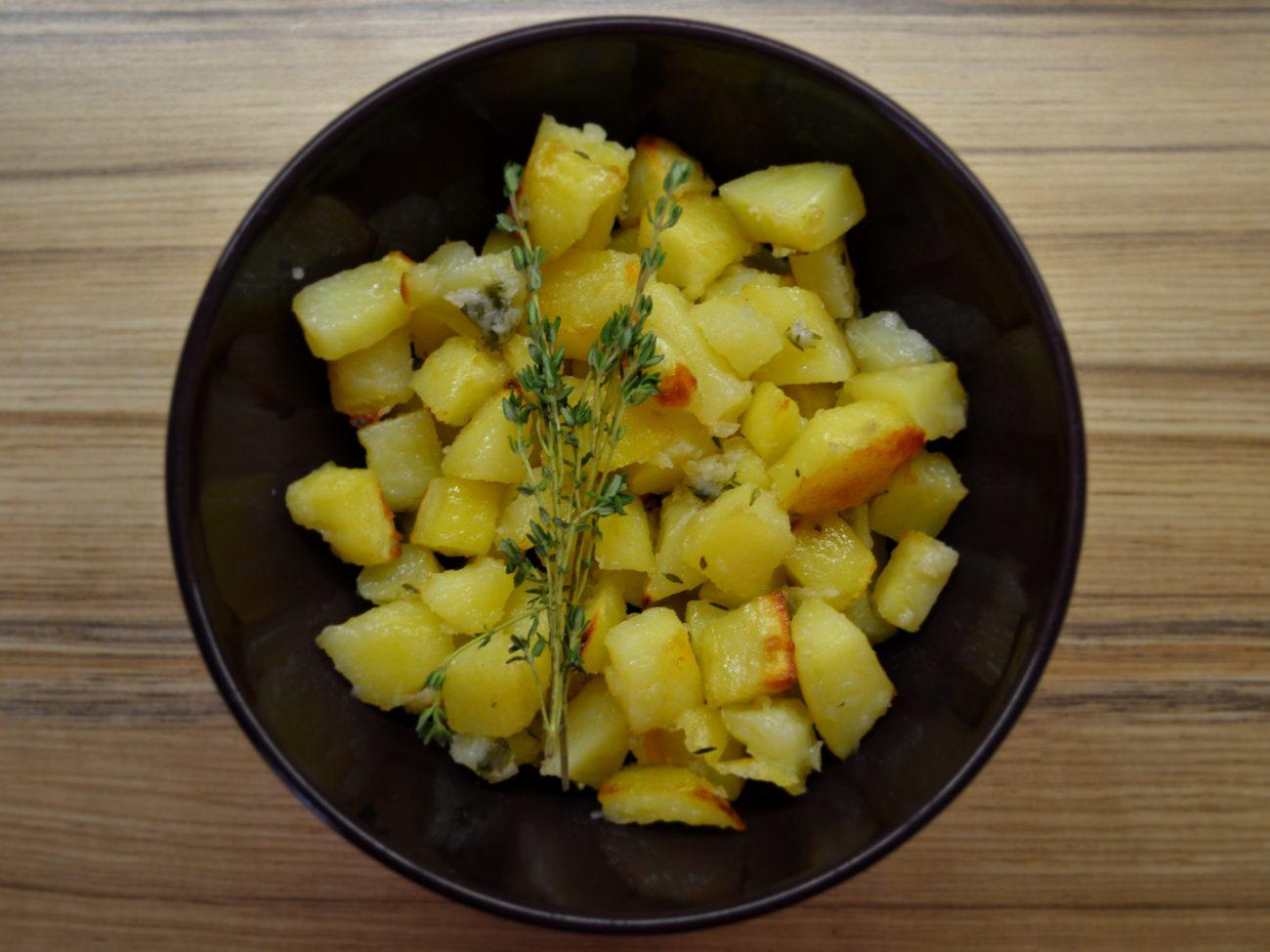 Печёная картошка