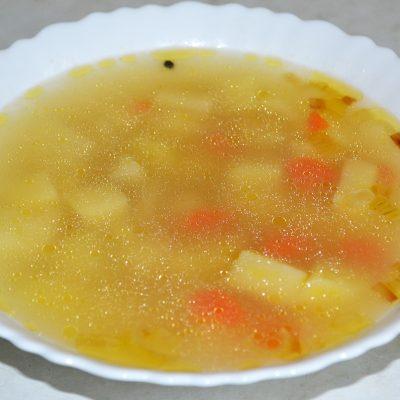Куриный суп с булгуром - рецепт с фото