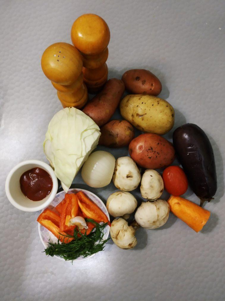 Фото рецепта - Овощное соте - шаг 1