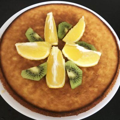 Апельсиновый кекс - рецепт с фото
