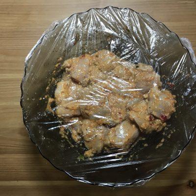 "Фото рецепта - Куриные шашлычки ""Карри"" - шаг 4"