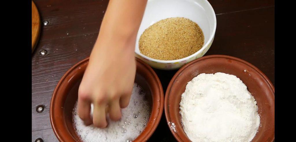 Фото рецепта - Закуска — Снеки (на молоке) - шаг 8