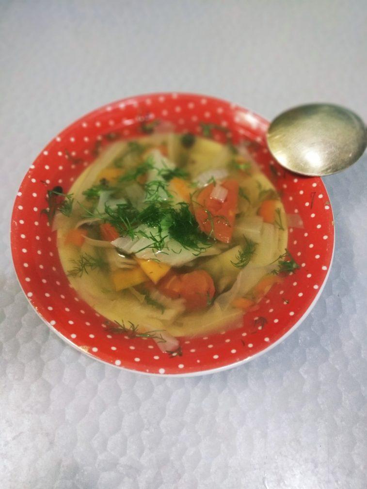Фото рецепта - Суп для похудения с сельдереем - шаг 6