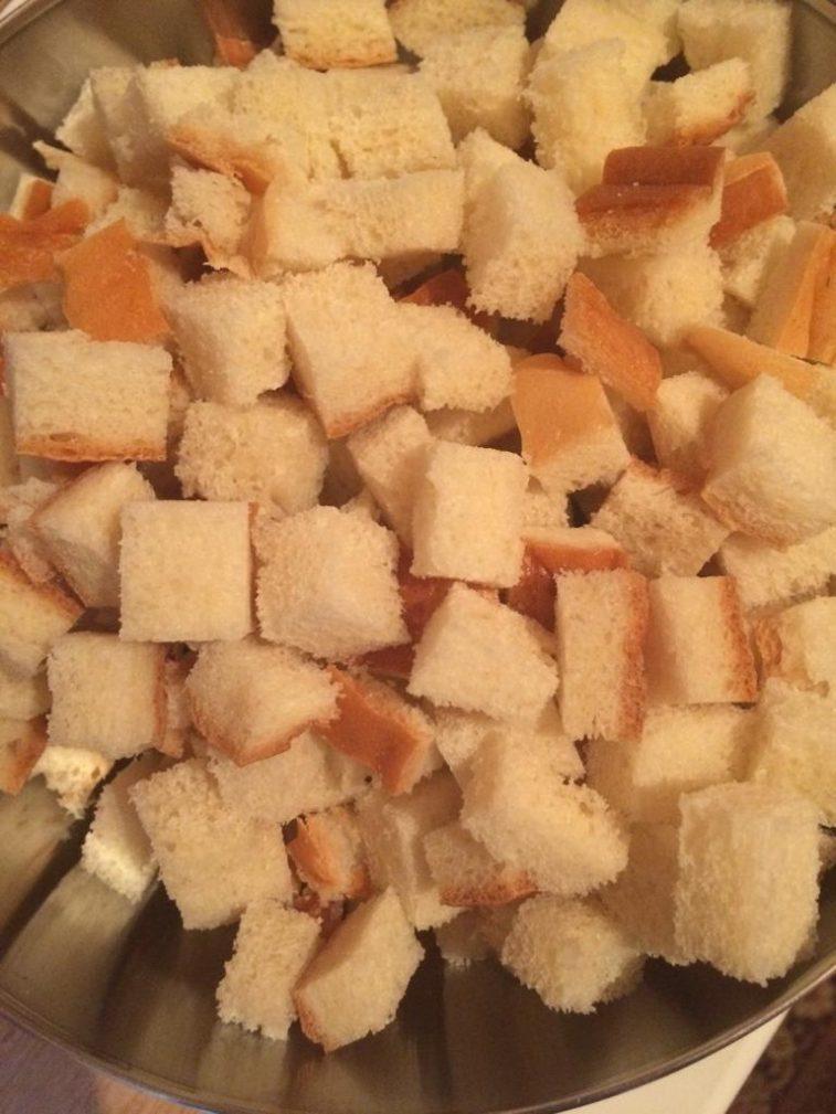 Фото рецепта - Крестьянский хлебный пирог с фруктами - шаг 1