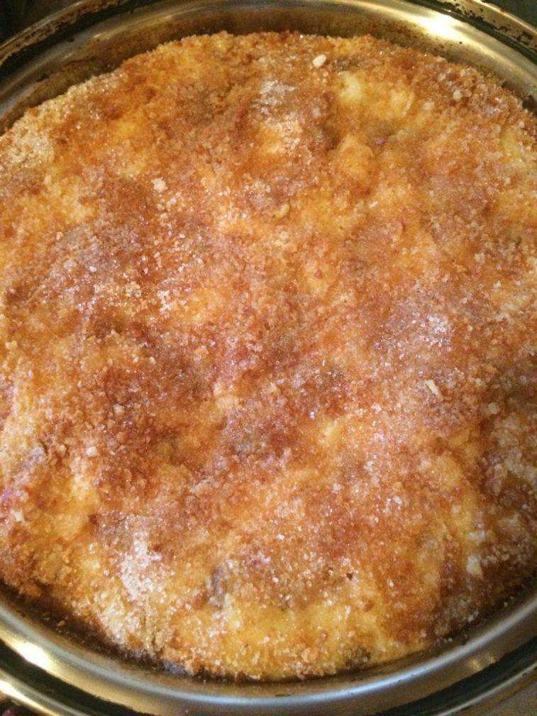 Фото рецепта - Крестьянский хлебный пирог с фруктами - шаг 6