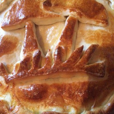 Пирог с грибами и картофелем - рецепт с фото