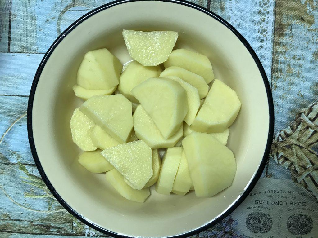 Фото рецепта - Судак запеченный с картофелем - шаг 2