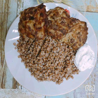 Оладьи из рубленой печени - рецепт с фото