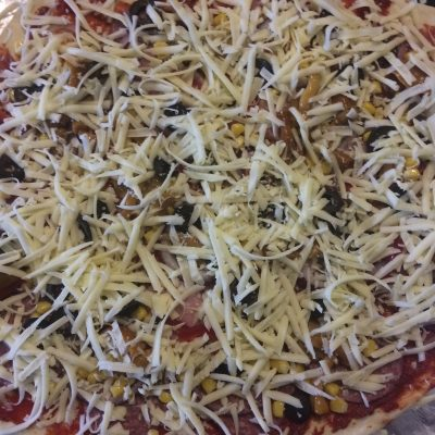 Фото рецепта - Пицца по-домашнему - шаг 10