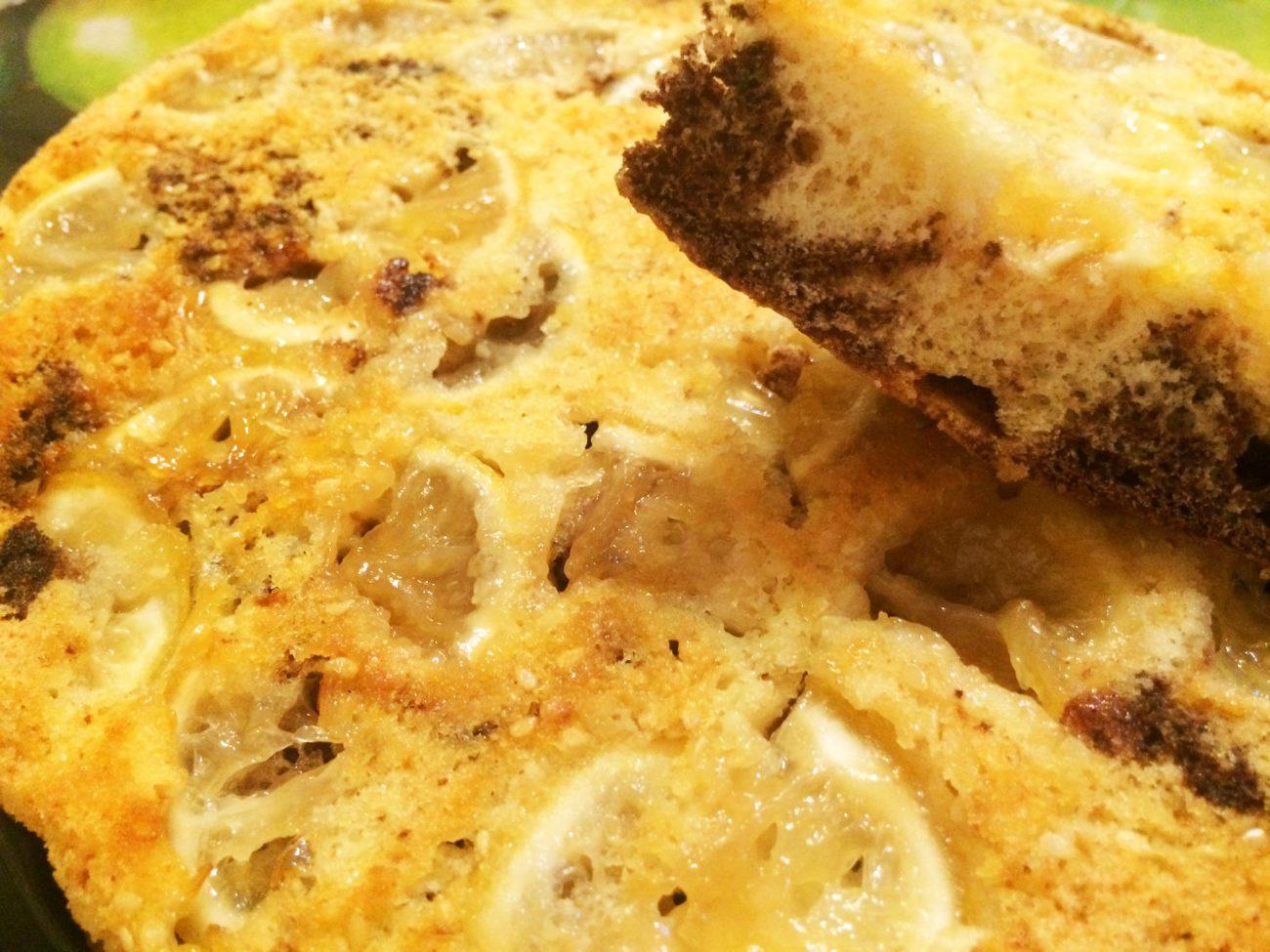 Лимонно-шоколадный пирог