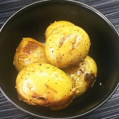 Картофель по-деревенски - рецепт с фото