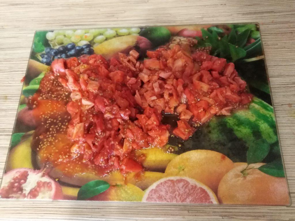 Фото рецепта - Салат – солянка на зиму - шаг 6