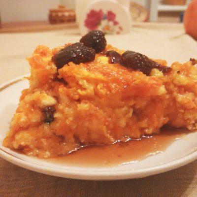 Пудинг из тыквы с творогом - рецепт с фото