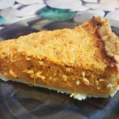 Тыквенный тарт - рецепт с фото