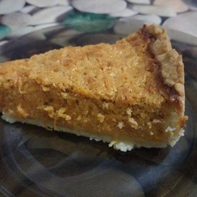 Фото рецепта - Тыквенный тарт - шаг 5