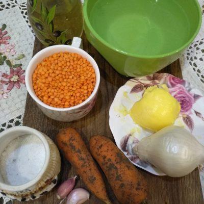 Фото рецепта - Очень нежный и ароматный паштет из чечевицы - шаг 1