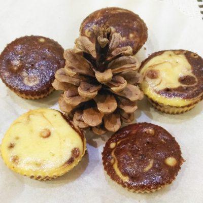 Кексы за 40 минут на кефире - рецепт с фото