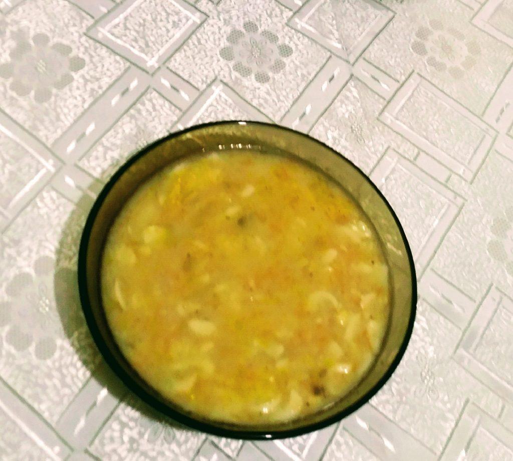 Фото рецепта - Суп на свинине с макаронами - шаг 5