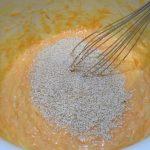 Фото рецепта - Морковный пирог с кунжутом - шаг 2