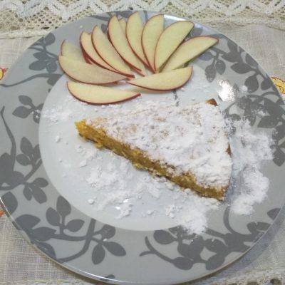 Фото рецепта - Морковный пирог с кунжутом - шаг 3