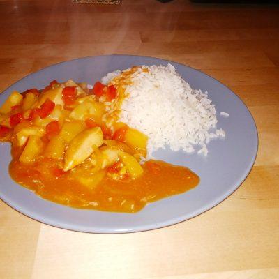 Фото рецепта - Курица в пряном кисло-сладком соусе - шаг 13