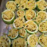 Фото рецепта - Фаршированные кабачки под сырной корочкой - шаг 2