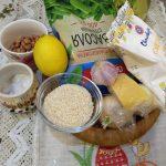 Фото рецепта - Спаржевая фасоль с сыром под сметанно-ореховым соусом - шаг 1