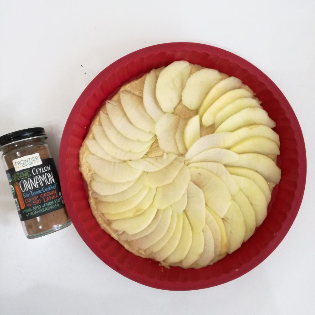 Фото рецепта - Яблочный тарт с корицей - шаг 5
