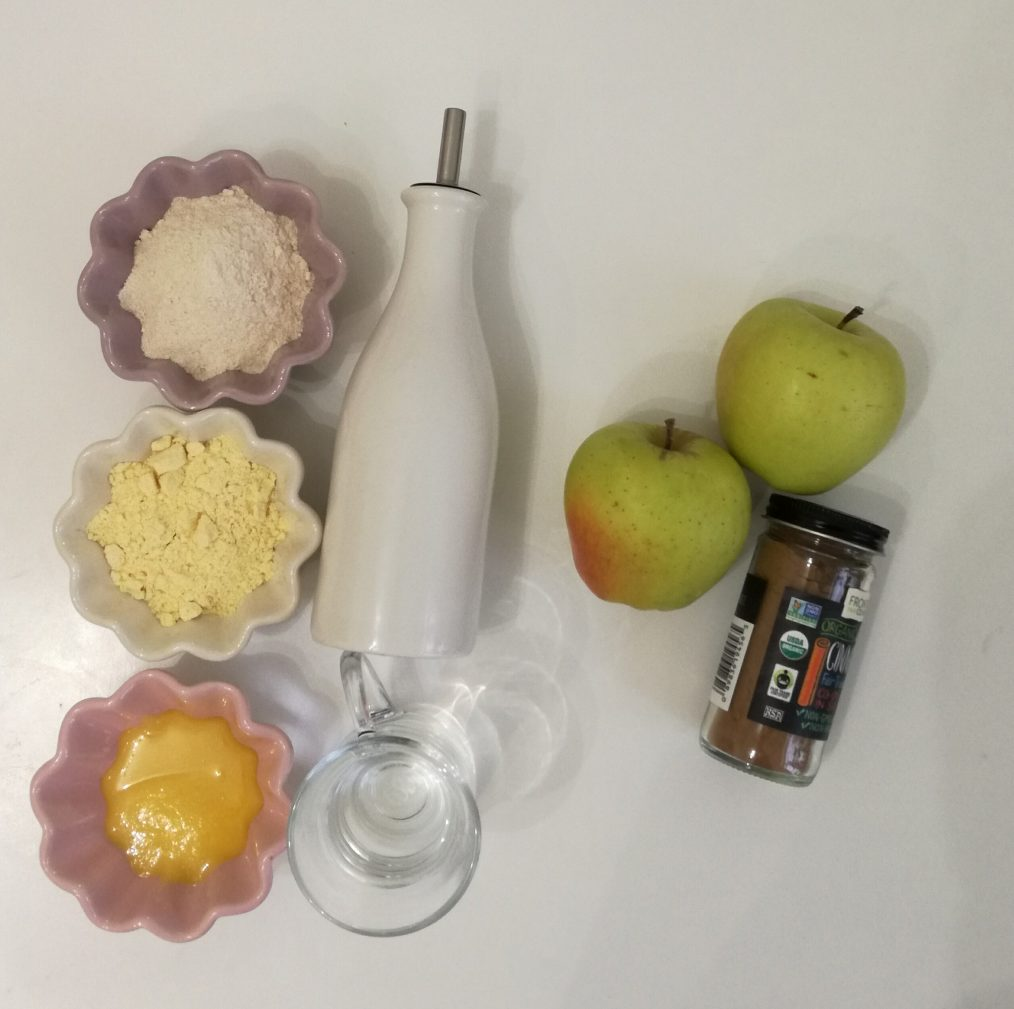 Фото рецепта - Яблочный тарт с корицей - шаг 1