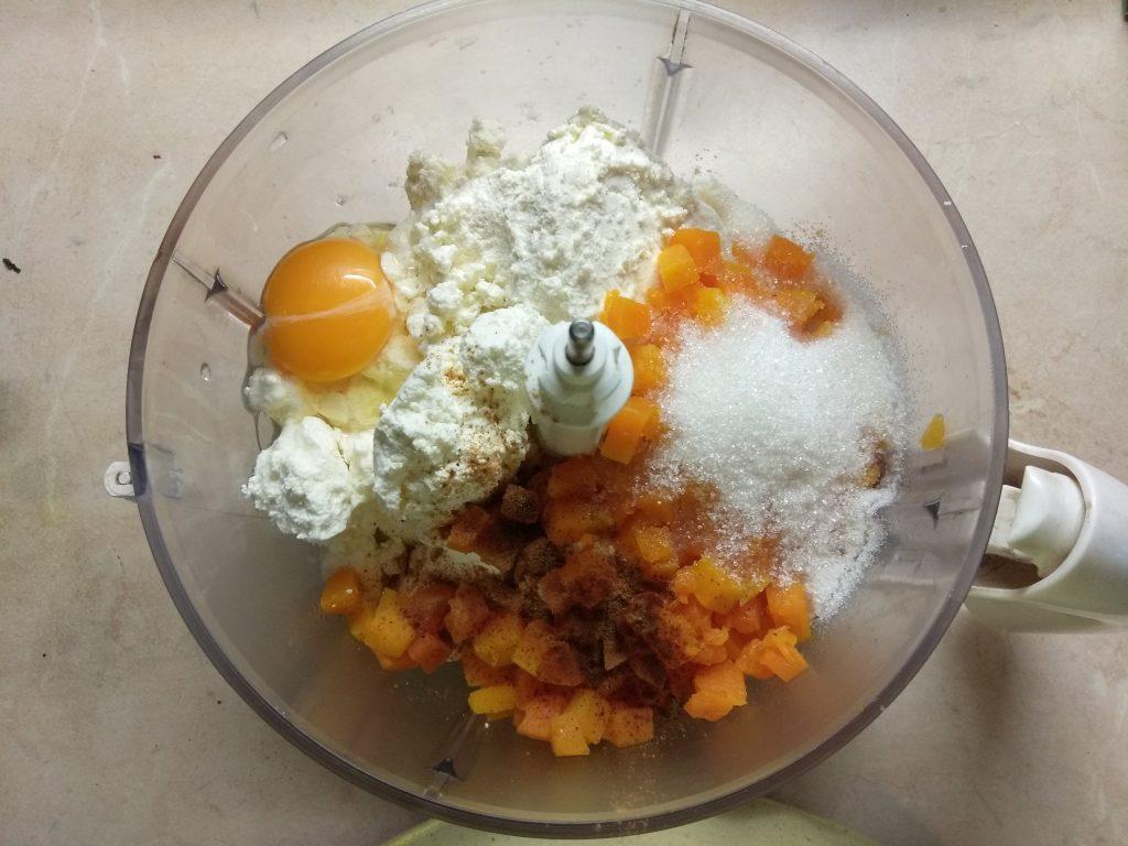 Фото рецепта - Тыквенно-творожная запеканка - шаг 2