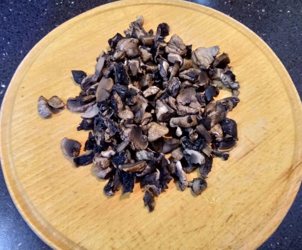 Фото рецепта - Грибы жареные с сыром - шаг 1