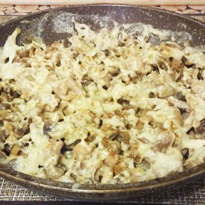 ПП-рецепт: Тушеная курица с грибами в молоке - рецепт с фото