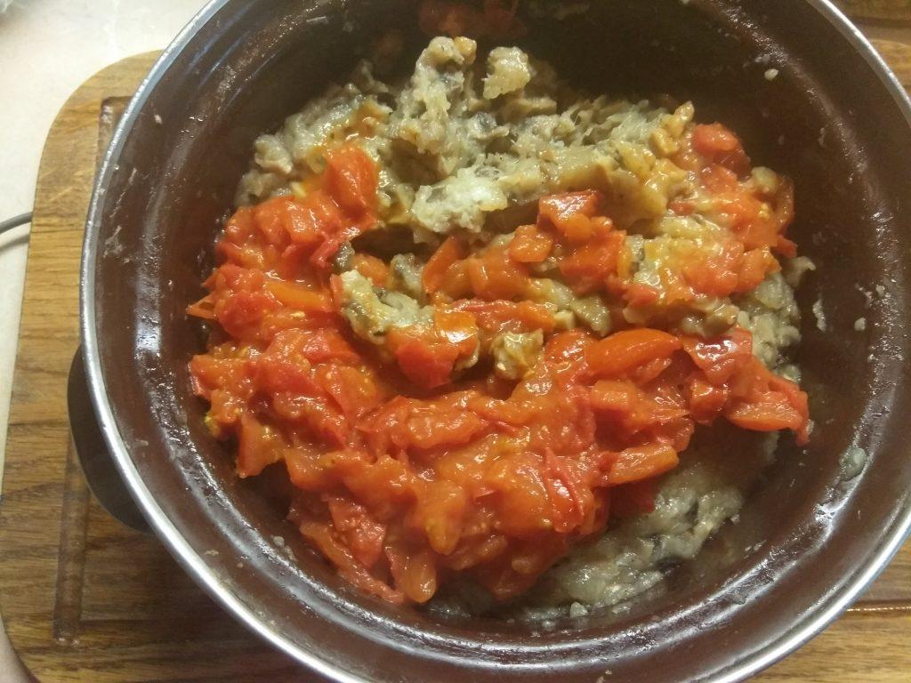 Фото рецепта - Диетическая лазанья с фаршем индейки на капустных листах - шаг 4
