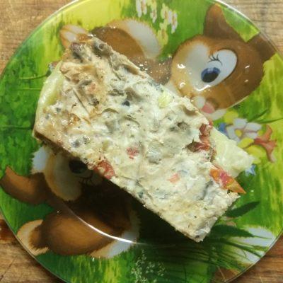 Диетическая лазанья с фаршем индейки на капустных листах - рецепт с фото