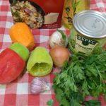 Фото рецепта - Булгур с зеленым горошком и овощами - шаг 1