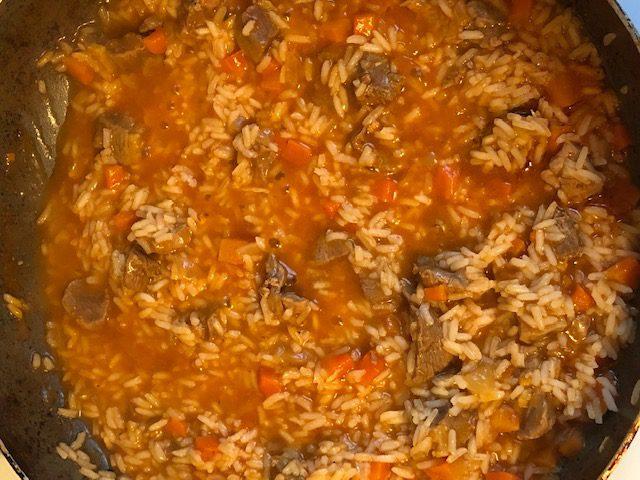 Фото рецепта - Вкусный плов из утки - шаг 5