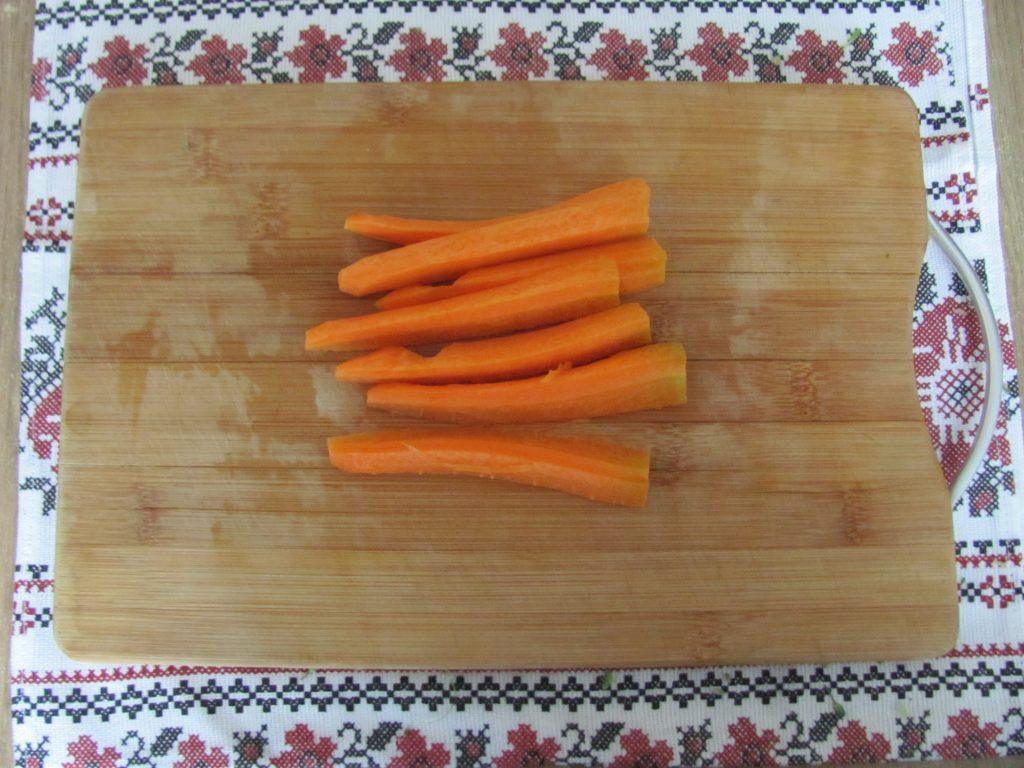 Фото рецепта - Брокколи и морковь под йогуртовым соусом в фольге - шаг 2