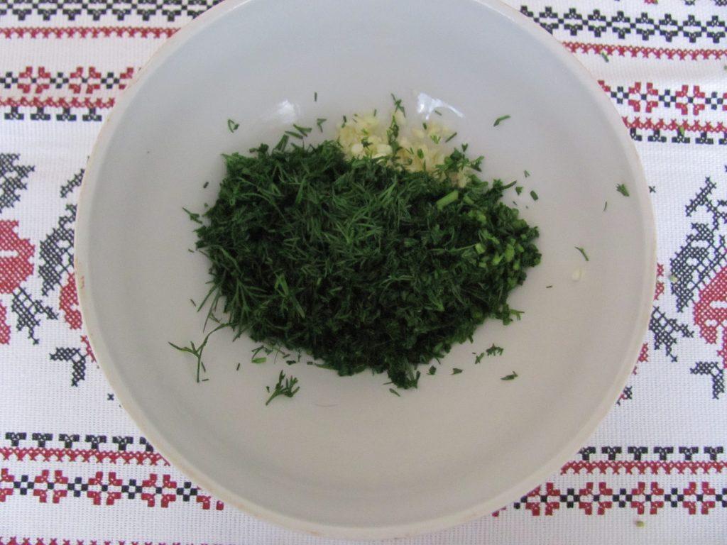 Фото рецепта - Брокколи и морковь под йогуртовым соусом в фольге - шаг 8