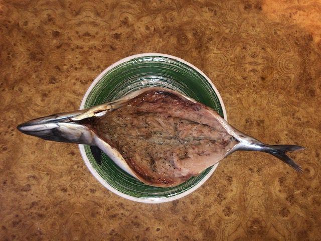 Фото рецепта - Фаршированная скумбрия, запеченная в фольге в духовке - шаг 2