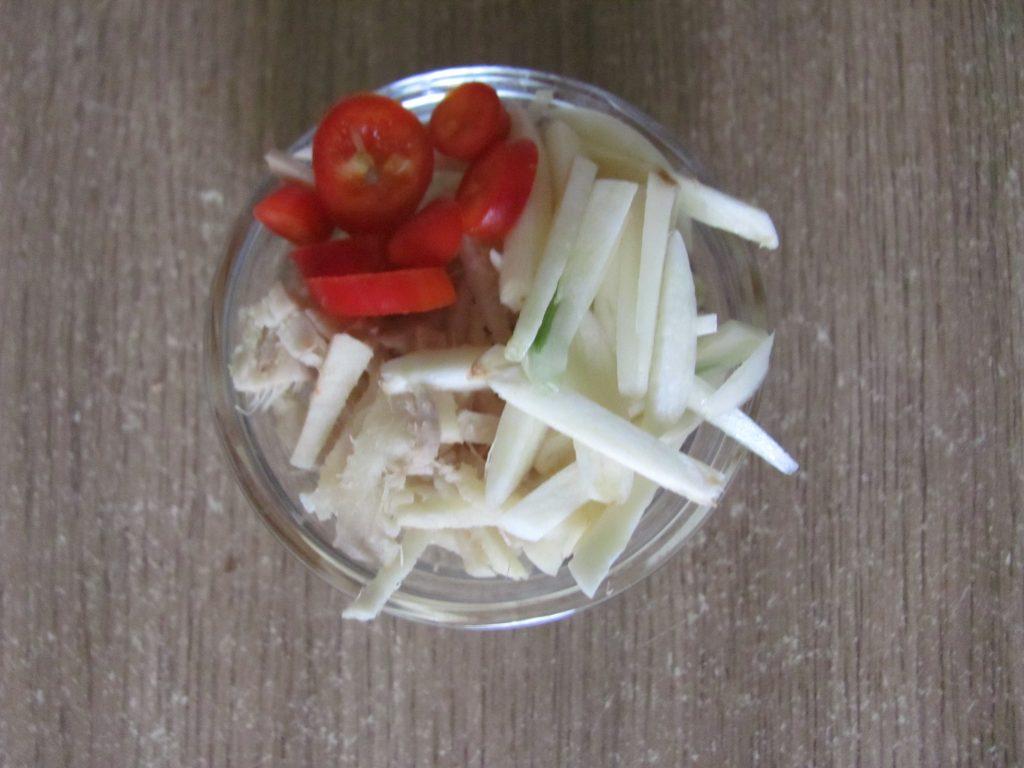 Фото рецепта - Курица в паназиатском стиле с гречневой кашей - шаг 3