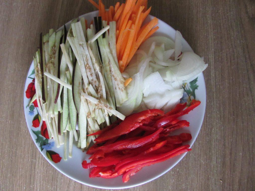 Фото рецепта - Курица в паназиатском стиле с гречневой кашей - шаг 2