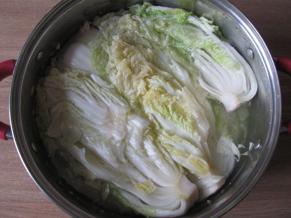 Фото рецепта - Домашнее кимчи – квашеная пекинская капуста - шаг 1