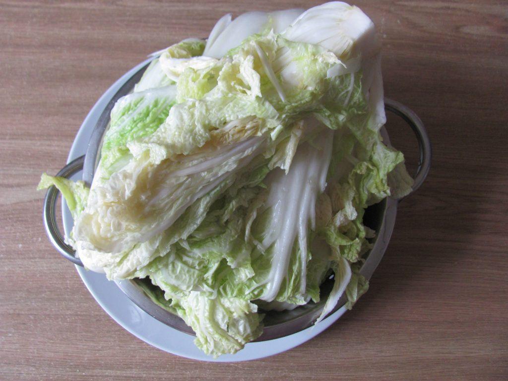 Фото рецепта - Домашнее кимчи – квашеная пекинская капуста - шаг 2